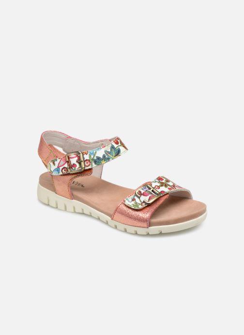 Sandales et nu-pieds Laura Vita DOBBY 039 Orange vue détail/paire