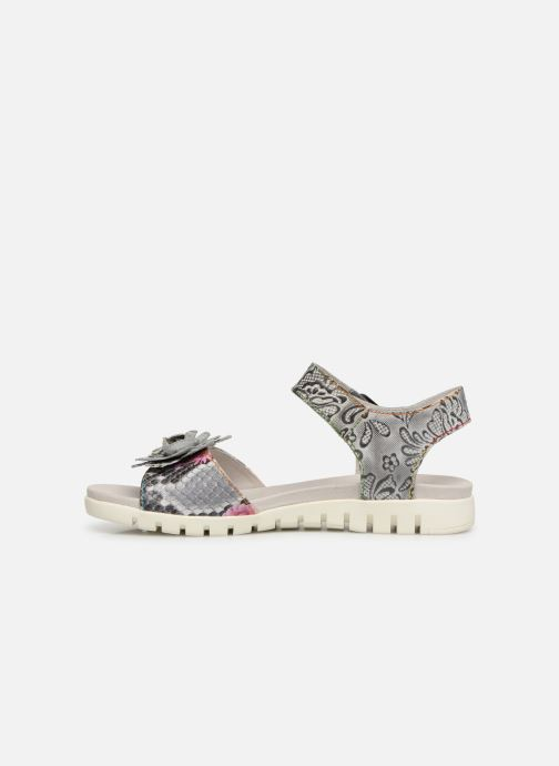 Sandali e scarpe aperte Laura Vita DOBBY 051 Grigio immagine frontale