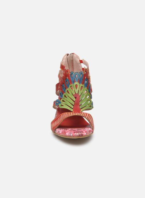 Sandales et nu-pieds Laura Vita FANNY 03 Rouge vue portées chaussures