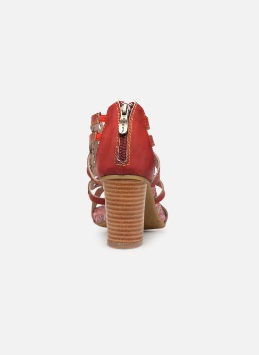 Sandales et nu-pieds Laura Vita FANNY 03 Rouge vue droite