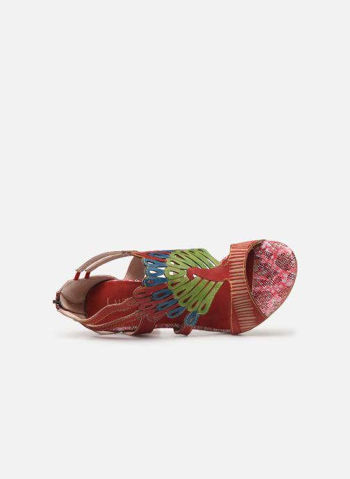 Sandales et nu-pieds Laura Vita FANNY 03 Rouge vue gauche