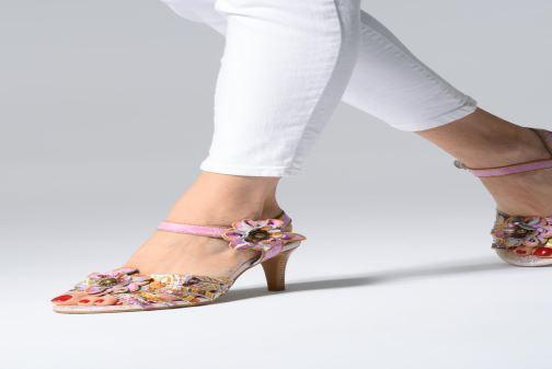 Sandali e scarpe aperte Laura Vita FANTASME 04 Rosa immagine dal basso