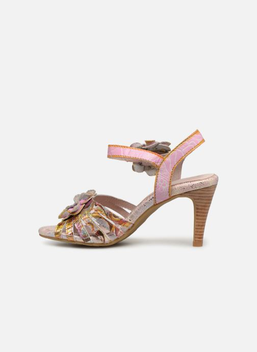 Sandali e scarpe aperte Laura Vita FANTASME 04 Rosa immagine frontale