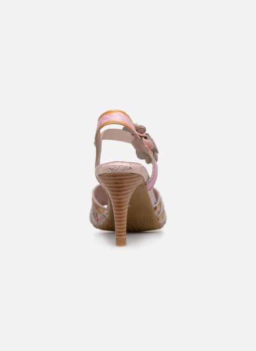 Sandali e scarpe aperte Laura Vita FANTASME 04 Rosa immagine destra