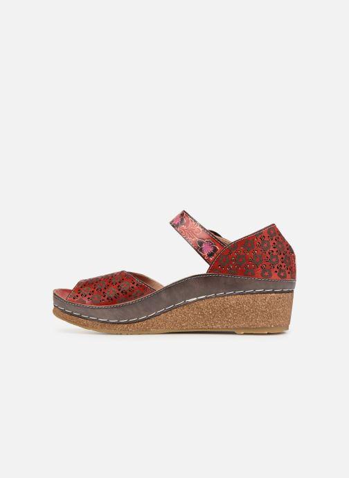 Sandali e scarpe aperte Laura Vita FACSCINEO 03 Rosso immagine frontale