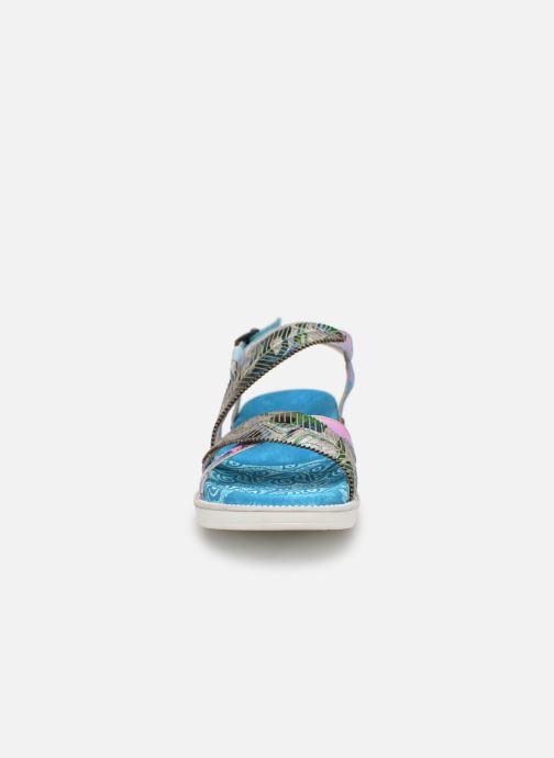 Sandales et nu-pieds Laura Vita FAUCON 11 Bleu vue portées chaussures