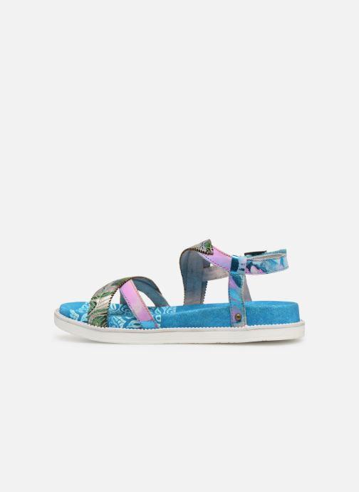 Sandales et nu-pieds Laura Vita FAUCON 11 Bleu vue face