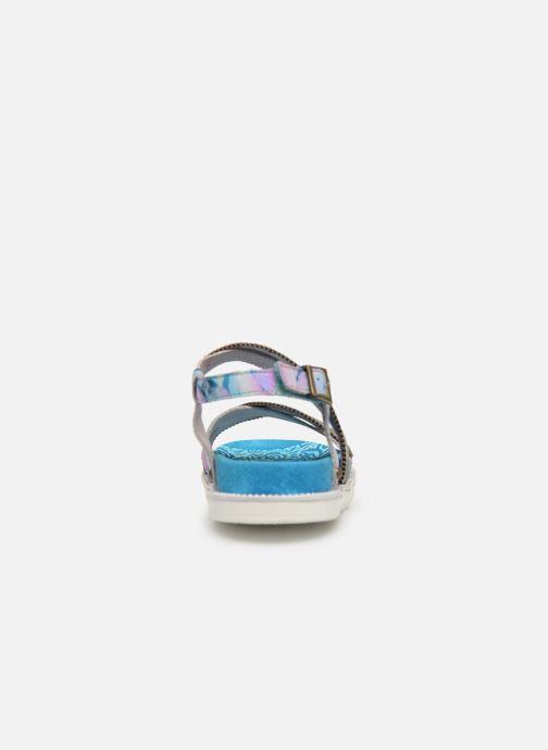 Sandales et nu-pieds Laura Vita FAUCON 11 Bleu vue droite