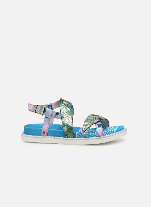 Sandales et nu-pieds Laura Vita FAUCON 11 Bleu vue derrière