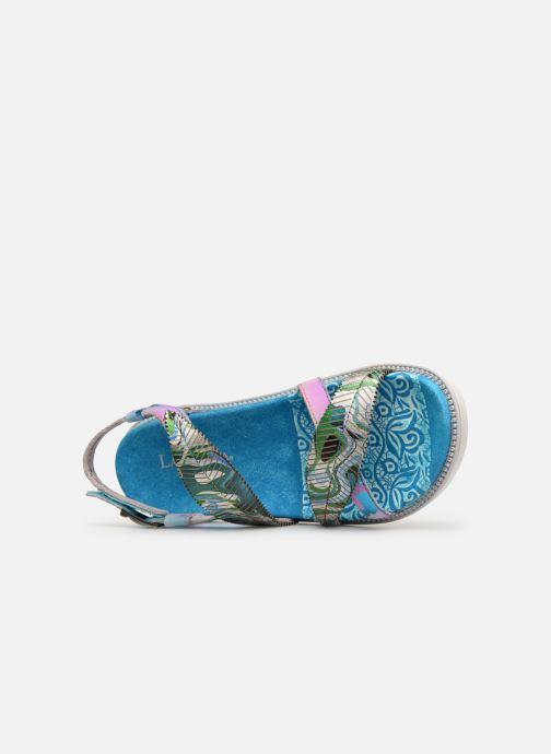 Sandales et nu-pieds Laura Vita FAUCON 11 Bleu vue gauche
