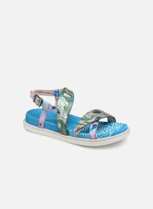 Sandales et nu-pieds Laura Vita FAUCON 11 Bleu vue détail/paire