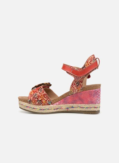 Sandales et nu-pieds Laura Vita FAY 06 Rouge vue face