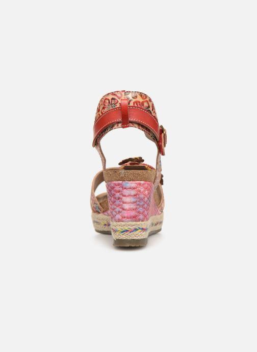 Sandales et nu-pieds Laura Vita FAY 06 Rouge vue droite
