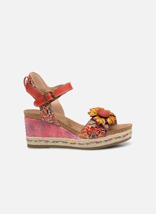 Sandales et nu-pieds Laura Vita FAY 06 Rouge vue derrière