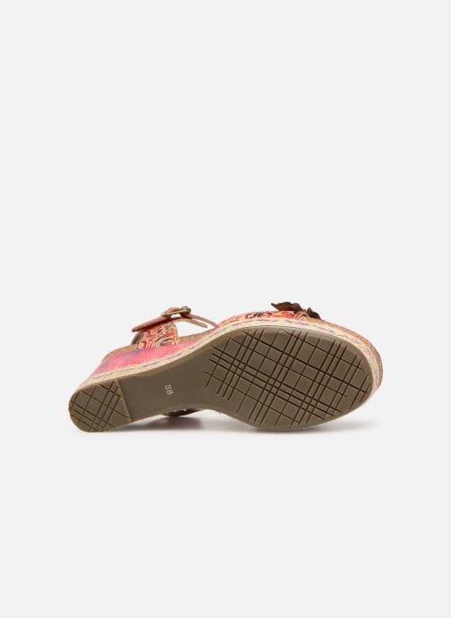 Sandales et nu-pieds Laura Vita FAY 06 Rouge vue haut