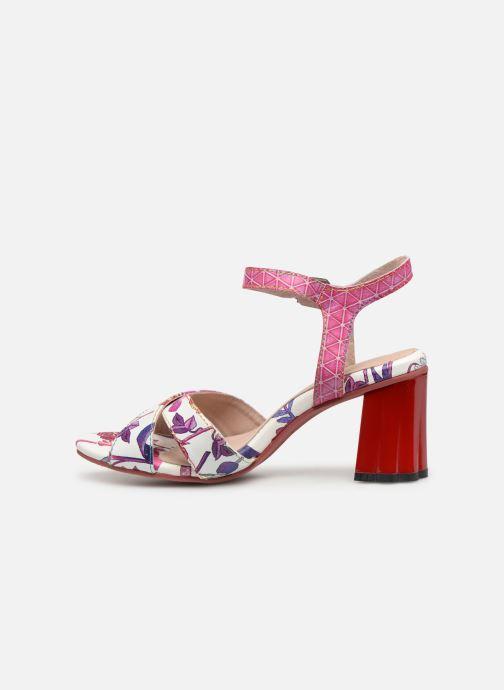 Sandales et nu-pieds Laura Vita FIDJI 01 Violet vue face