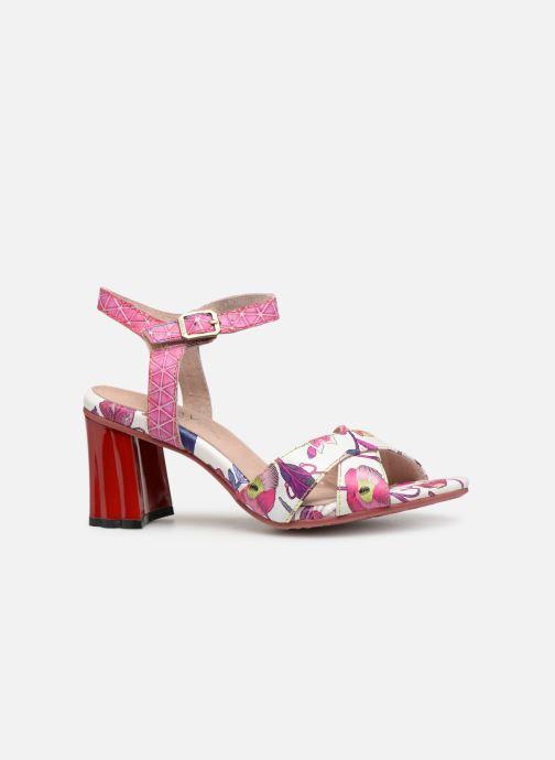 Sandales et nu-pieds Laura Vita FIDJI 01 Violet vue derrière