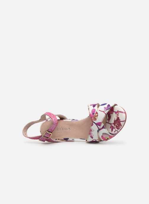 Sandales et nu-pieds Laura Vita FIDJI 01 Violet vue gauche