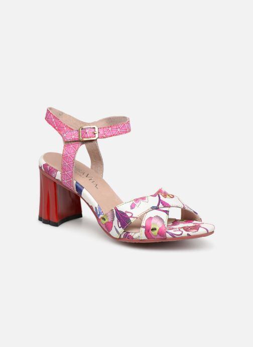 Sandales et nu-pieds Laura Vita FIDJI 01 Violet vue détail/paire
