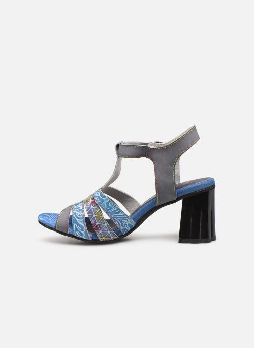 Sandales et nu-pieds Laura Vita FIJI 02 Bleu vue face