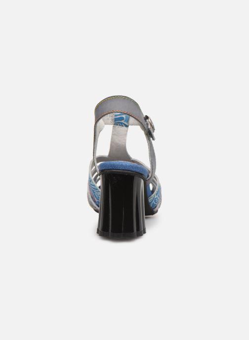 Sandales et nu-pieds Laura Vita FIJI 02 Bleu vue droite