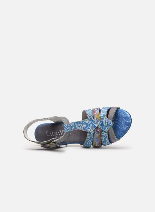 Sandales et nu-pieds Laura Vita FIJI 02 Bleu vue gauche