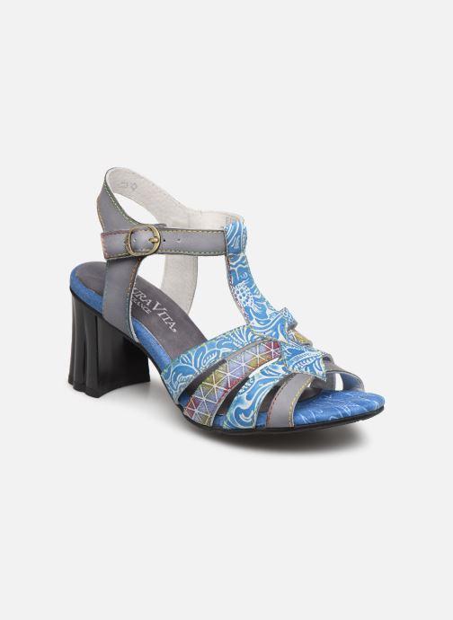 Sandales et nu-pieds Laura Vita FIJI 02 Bleu vue détail/paire