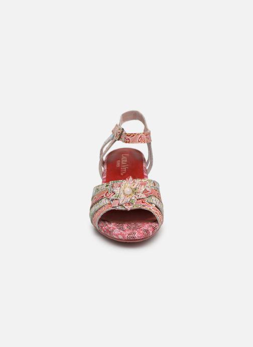 Sandales et nu-pieds Laura Vita FLORIE 05 Rouge vue portées chaussures