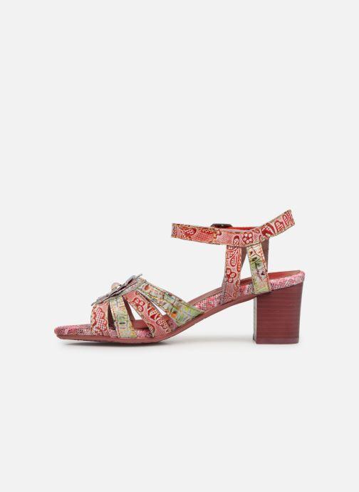 Sandales et nu-pieds Laura Vita FLORIE 05 Rouge vue face