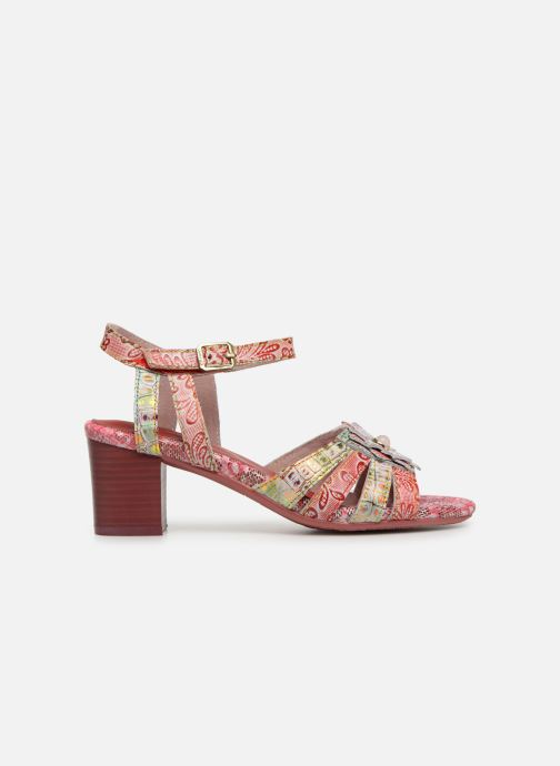 Sandals Laura Vita FLORIE 05 Red back view