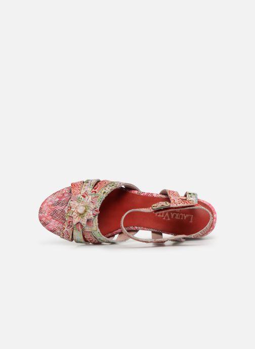 Sandales et nu-pieds Laura Vita FLORIE 05 Rouge vue gauche