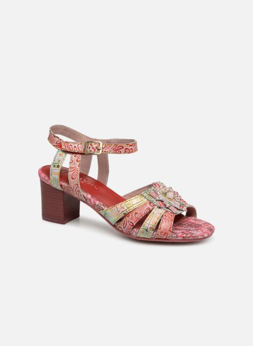 Sandals Laura Vita FLORIE 05 Red detailed view/ Pair view
