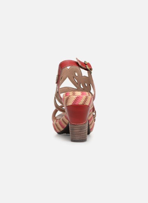 Sandales et nu-pieds Laura Vita FINAL 01 Rouge vue droite
