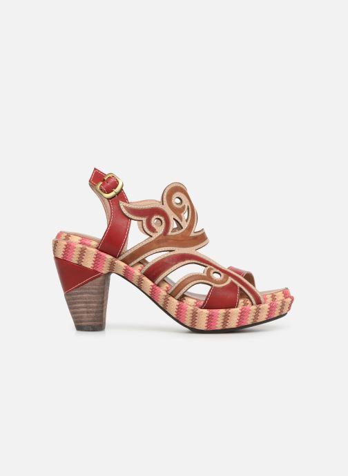 Sandales et nu-pieds Laura Vita FINAL 01 Rouge vue derrière