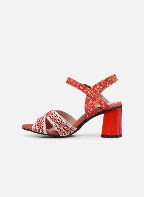Sandales et nu-pieds Laura Vita FICDJIO 0191 Rouge vue face