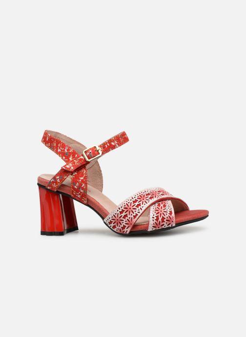 Sandales et nu-pieds Laura Vita FICDJIO 0191 Rouge vue derrière