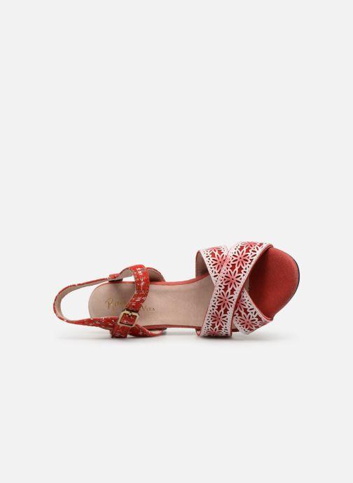 Sandales et nu-pieds Laura Vita FICDJIO 0191 Rouge vue gauche