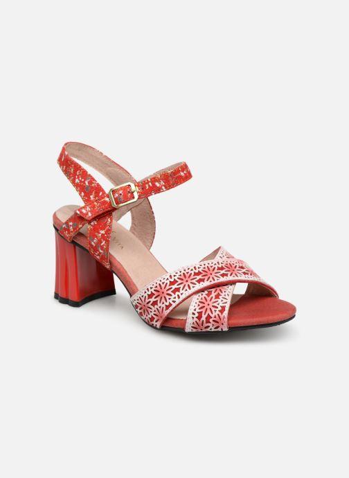 Sandales et nu-pieds Laura Vita FICDJIO 0191 Rouge vue détail/paire