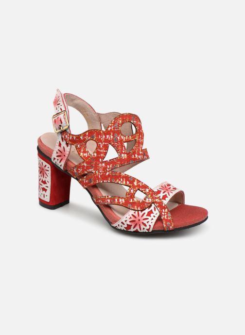 Sandalen Laura Vita FACNNYO 059 rot detaillierte ansicht/modell