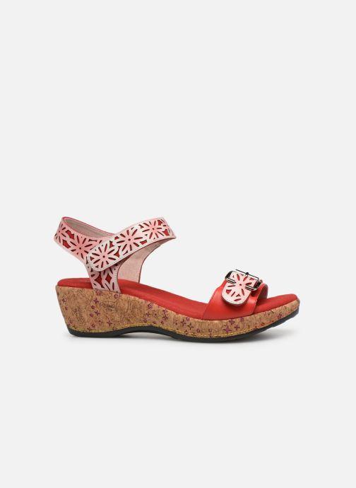 Sandales et nu-pieds Laura Vita FACRDOTO 019 Rouge vue derrière