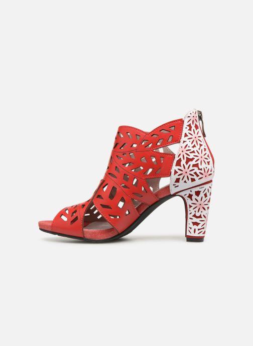 Sandales et nu-pieds Laura Vita ALCBANEO 0493 Rouge vue face