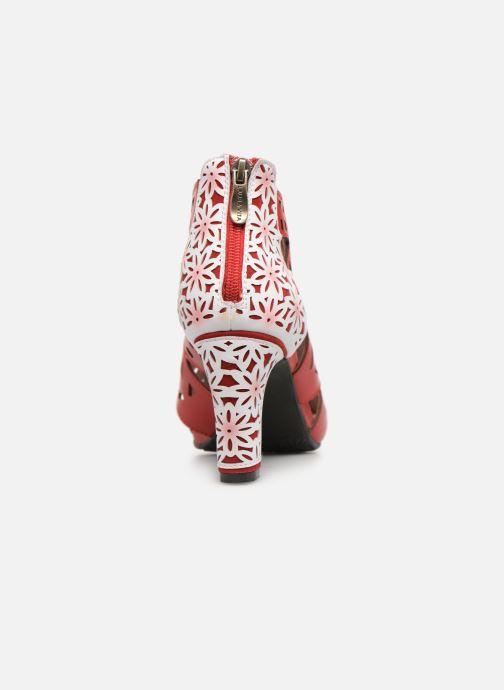 Sandales et nu-pieds Laura Vita ALCBANEO 0493 Rouge vue droite