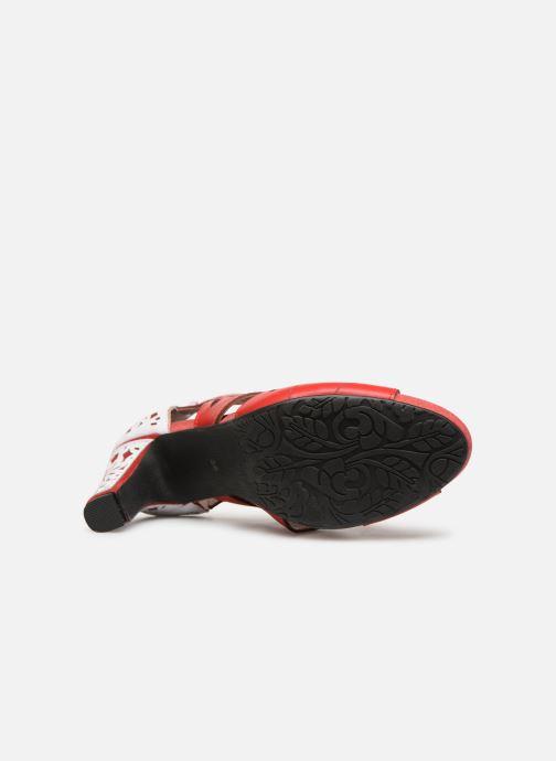 Sandales et nu-pieds Laura Vita ALCBANEO 0493 Rouge vue haut