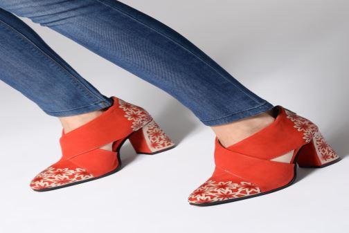 Bottines et boots Laura Vita EDCIKAO 05 Rouge vue bas / vue portée sac