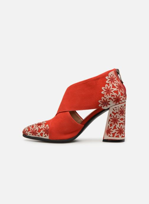 Bottines et boots Laura Vita EDCIKAO 05 Rouge vue face
