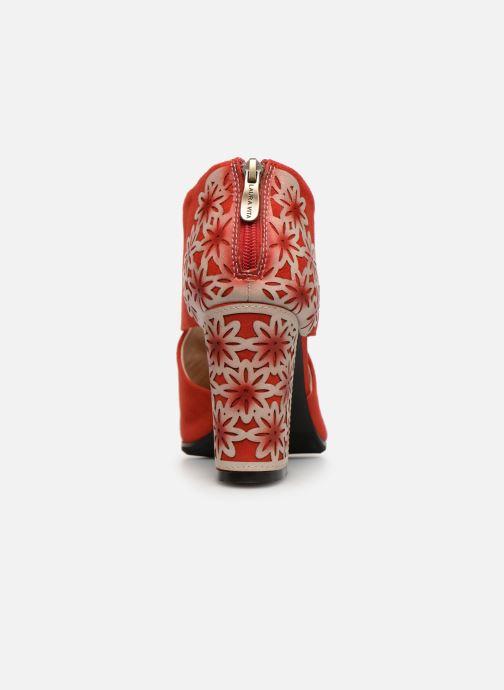 Bottines et boots Laura Vita EDCIKAO 05 Rouge vue droite