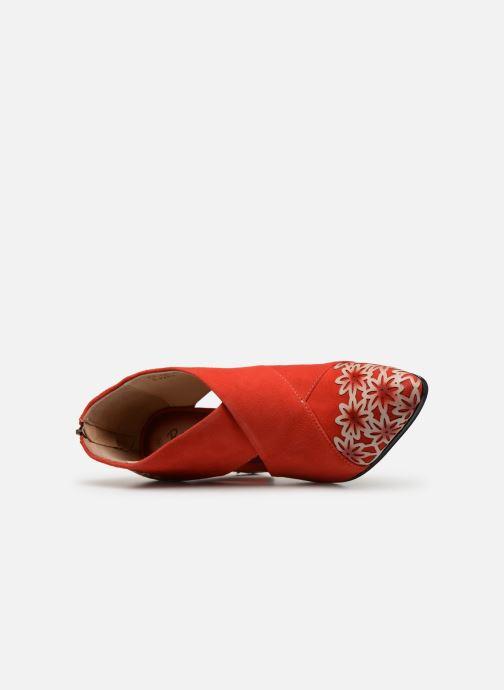 Stiefeletten & Boots Laura Vita EDCIKAO 05 rot ansicht von links