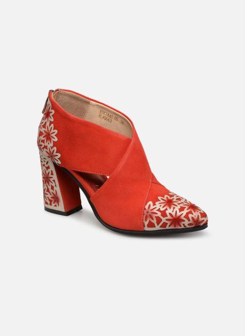 Bottines et boots Laura Vita EDCIKAO 05 Rouge vue détail/paire