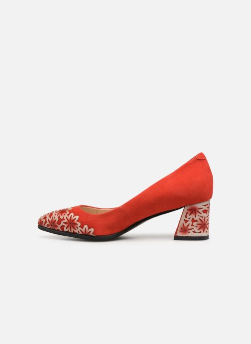 Zapatos de tacón Laura Vita EDCIKAO 021 Rojo vista de frente