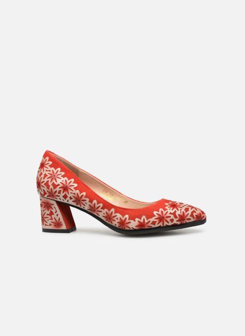 Zapatos de tacón Laura Vita EDCIKAO 021 Rojo vistra trasera